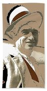 Will Rogers Informal Portrait Unknown Photographer Or Location 1924-2014  Beach Towel