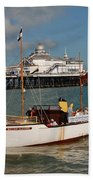 William Allchorn Eastbourne Beach Towel