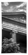 Williamson County Courthouse Bw Beach Towel