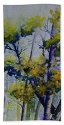 Wind In The Trees  Beach Towel