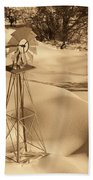 Wind Mill Beach Towel