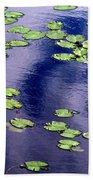 Wind Whirling The Lake Beach Towel