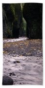 Winding Through Oneonta  Gorge Beach Towel