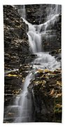 Winding Waterfall Beach Towel by Christina Rollo