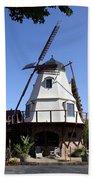 Windmill In Solvang Beach Towel