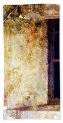 Window - Water Color - Fort Beach Towel