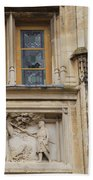 Window And Relief Palace Ducal Beach Towel