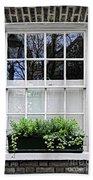 Window In London Beach Towel by Elena Elisseeva