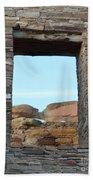 Window In Time Beach Towel