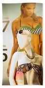 Window Mannequin 6 Beach Towel