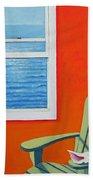 Window To The Sea No. 1 - Seashell Beach Towel
