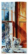 Window Treasures Beach Towel