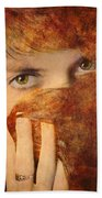 Windows To The Soul #04 Beach Towel
