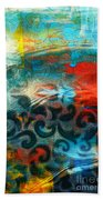 Winds Of Change - Abstract Art Beach Towel