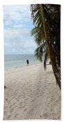 Windswept Palms Beach Towel