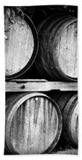 Wine Barrels Beach Towel by Scott Pellegrin