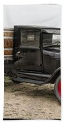 Wine Delivery Truck Beach Towel