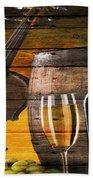 Wine Beach Towel