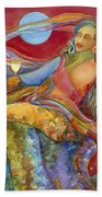 Wine Woman And Song Beach Towel