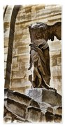 Winged Victory - Louvre Beach Towel