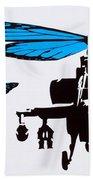 Wingin It - Blue Beach Towel