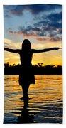 Wings Beach Towel by Laura Fasulo