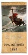 Winslow Homer 3 Beach Towel