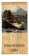 Winslow Homer 4 Beach Towel