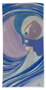 Winter Breath Beach Towel