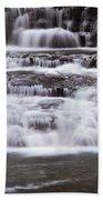 Winter Fall Beach Towel