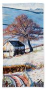 Winter Frost Beach Towel by Tilly Willis