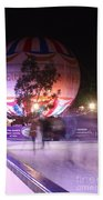 Winter Gardens Ice Rink And Balloon Bournemouth Beach Towel