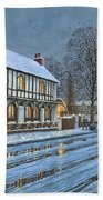 Winter Glow Parish Room Tickhill Yorkshire Beach Towel