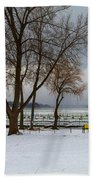 Winter Has Arrived Beach Towel