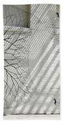 Winter Haven Abstract Beach Towel