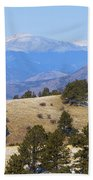 Winter In The Pike National Forest Beach Towel