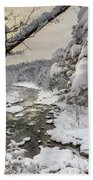 Winter Morning Beach Towel by Bill Wakeley