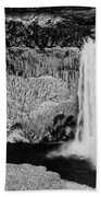 Winter Palouse Falls 3 Beach Towel