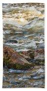 Winter Rapids Beach Towel