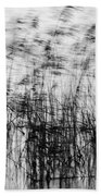 Winter Reeds Beach Towel
