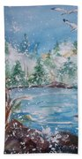 Winter Solstice Beach Towel