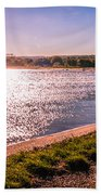 Winter Sunshine Beach Towel by Dawn OConnor