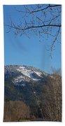 Winter Vista From Grants Pass Beach Towel