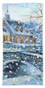 Winter Wonderland Beach Sheet