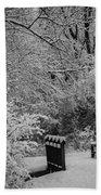 Winter Wonderland Beach Towel by Sebastian Musial