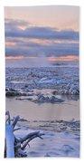 Winters River Beach Towel
