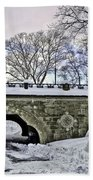Winter's Touch  Beach Towel