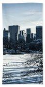 Winter's Touch - Manhattan Beach Towel