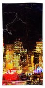 Wired Seattle Beach Towel