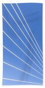 Wires Beach Towel